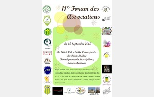 Le Forum des Association 2015